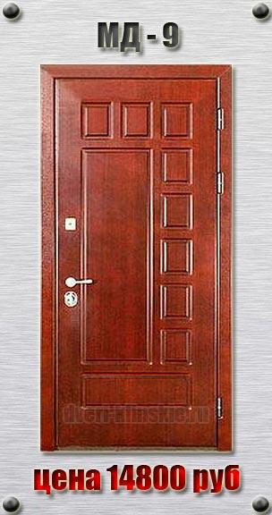 металлические входные двери с мдф пвх