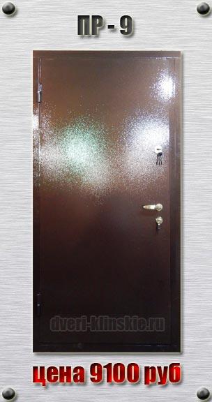 входные антивандальные двери с порошковым напылением