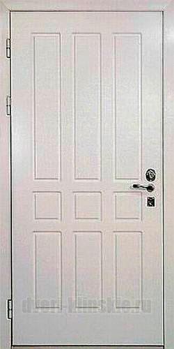 металлические двери с отделкой пвх