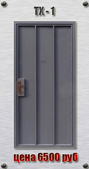 дверь металлическая простая входная