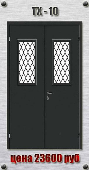 железные технические двери на заказ